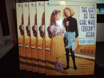 The  Gift of the Girl Who Couldn't Hear ISBN 0-688-11694-9 (Set of 10)