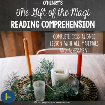 The Gift of the Magi Reading Comprehension