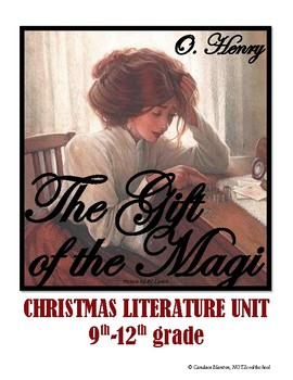 The Gift of the Magi Christmas Unit: Literary Devices, Discussion, Prompts, Quiz