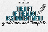 The Gift of the Magi Activity