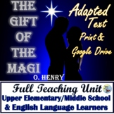 The Gift of the Magi Adapted Reading Activities Great for ESL Print & Digital