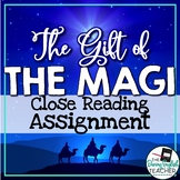 Gift of the Magi Close Reading Assignment