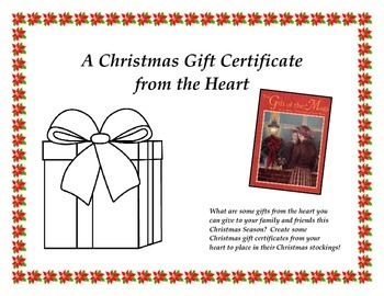 The Gift of the Magi - Gift Certificates from the Heart