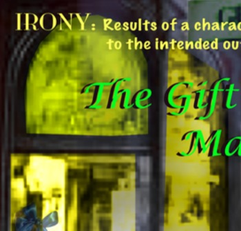 The Gift of the Magi Irony poster