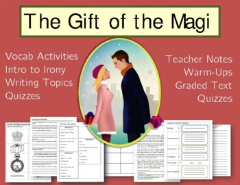 The Gift of the Magi Lesson Plans and Activities