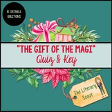 The Gift of the Magi Quiz