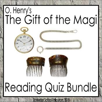 The Gift of the Magi Reading Quiz Bundle