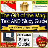 The Gift of the Magi Test and Study Guide Google Ready + Self-Grading Test