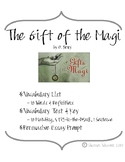 The Gift of the Magi Vocabulary List and Test