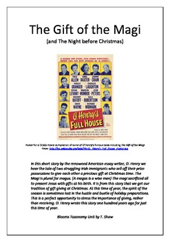 The Gift of the Magi and The Night  Before Christmas
