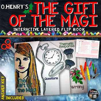 THE GIFT OF THE MAGI, BY O.HENRY SHORT STORY LITERATURE GUIDE FLIP BOOK