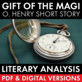 Gift of the Magi, O. Henry, Short Story Literary Analysis + Writing Task, CCSS