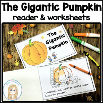 The Gigantic Pumpkin blackline printable reader