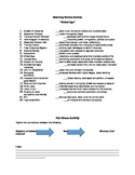 The Gilded Age-Matching Review Activity/Concept Map Pair-S