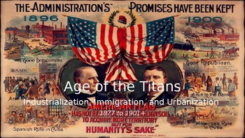 The Gilded Age, Part I & II: Industrialization, Immigration, and Urbanization