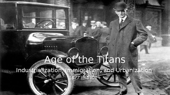 The Gilded Age, Part II: Urbanization & Politics (1880s, 1890s)