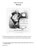 The Gilded Age Political Cartoon worksheet