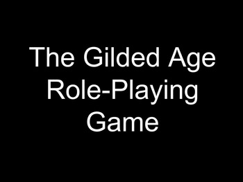 The Gilded Age - Simulation