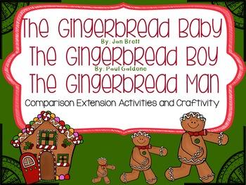 The Gingerbread Baby, Gingerbread Boy & Gingerbread Man Extension Activities