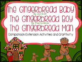 The Gingerbread Baby, Gingerbread Boy & Gingerbread Man Extension Activities