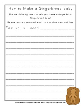 The Gingerbread Baby: Mini Book Study!