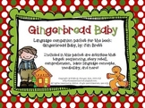 Gingerbread Baby – Speech and Language Activities (Winter