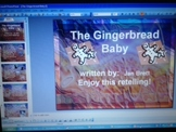The Gingerbread Baby by Jan Brett Retelling Comprehension PowerPoint
