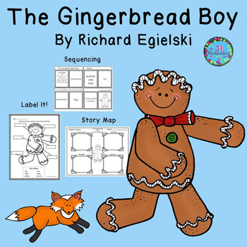 The Gingerbread Boy Activities