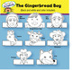 The Gingerbread Boy Character Headbands