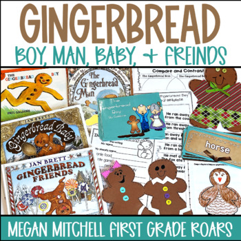 Gingerbread Boy Man Baby and Friends
