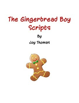 Gingerbread Boy - Reader's Theater scripts