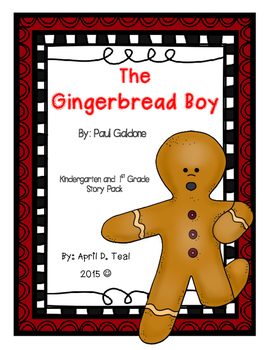The Gingerbread Boy by Paul Galdone Story Pack