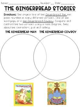 The Gingerbread Cowboy STEM Lab