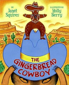 The Gingerbread Cowboy Tiered Flip Book