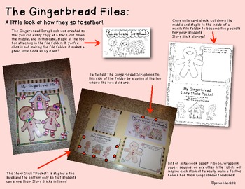 The Gingerbread Files - Gingerbread Uncovered! Common Core Activities Bundle