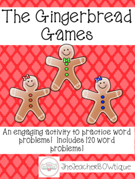 The Gingerbread Games-Editable