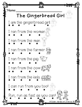 The Gingerbread Girl & Boy(2)l-Read with Dots
