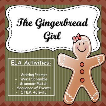 The Gingerbread Girl - ELA Activities