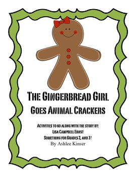 The Gingerbread Girl Goes Animal Crackers- Comprehension,