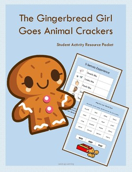 The Gingerbread Girl Goes Animal Crackers Student Activities