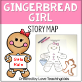 The Gingerbread Girl Story Map