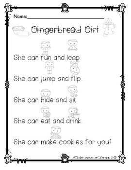 Reading with Dots-The Gingerbread Girl
