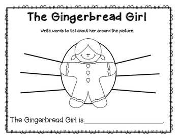 The Gingerbread Girl Story Pack