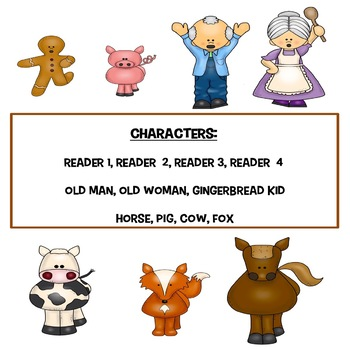 The Gingerbread Kid  (a reader's theater with an altenate ending!)