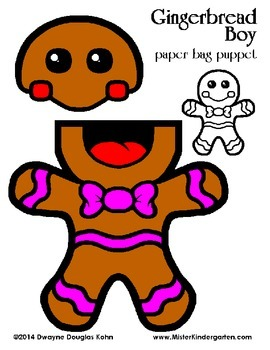 The Gingerbread Kids: (Gingerbread Boy and Girl plus Gingerbread House)