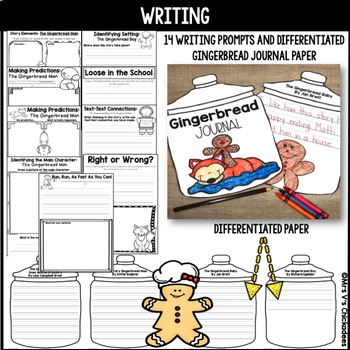 The Gingerbread Man: 102 Pages of Literacy & Math Fun!
