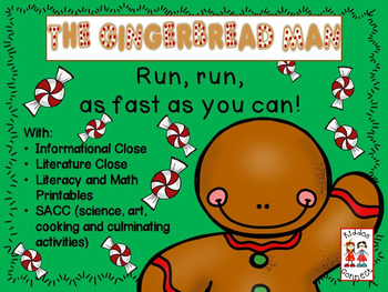 The Gingerbread Man with Closes, Shared Reading, Literacy,