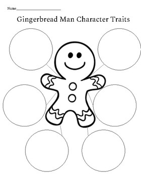 The Gingerbread Man Graphic Organizers