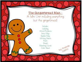 The Gingerbread Man - A Mini Unit