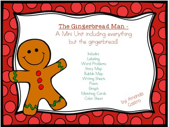 The Gingerbread Man - A Mini Unit